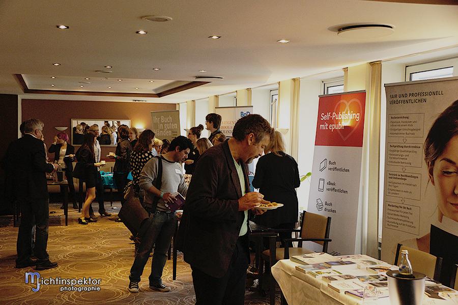 Sponsorenausstellung beim SP-Day 2015 in Münster