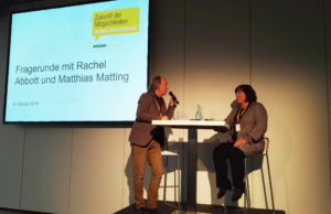 Matthias Matting interviewt Rachel Abbott