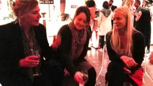 Plauderrunde mit Jo Berger, Andrea Bielfeldt und Corinna Rindlisbacher