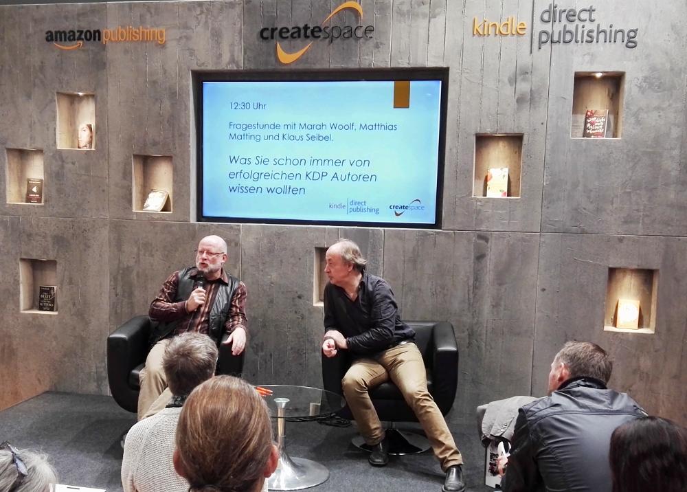 Klaus Seibel (l.) und Matthias Matting (r.)