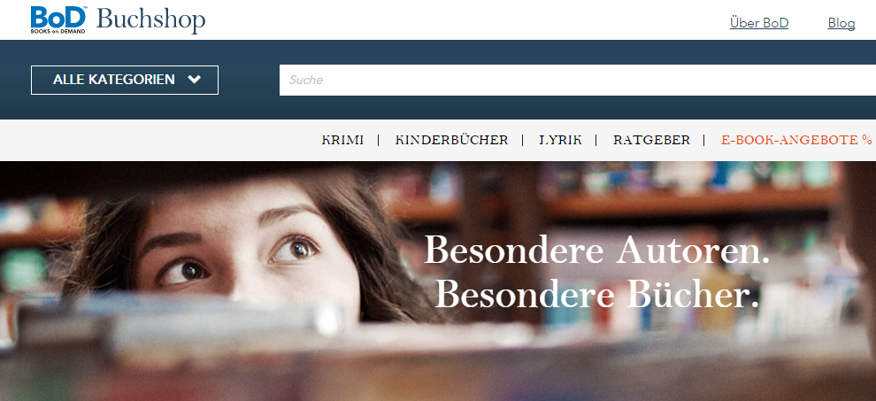 Self-Publisher profitieren von neuem Buchshop