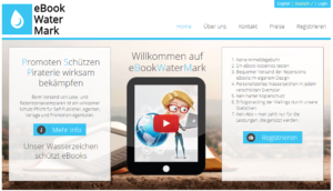 eBookWatermark beugt der eBook-Piraterie vor